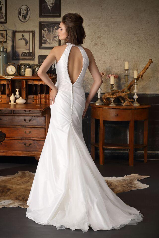 bruidsjurk open rug