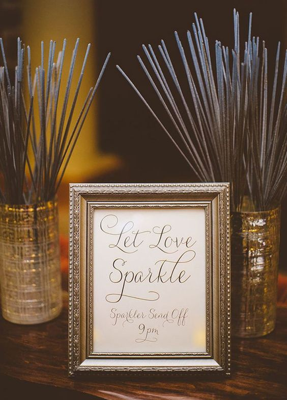 Let love sparkle - originele trouwbedankjes