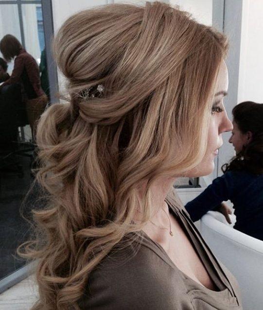 Zeer Bruidskapsels met lang haar - 50x inspiratie - Mijn Trouwpagina &VR46