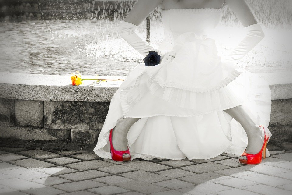 rode trouwschoenen inlopen om blaren te voorkomen