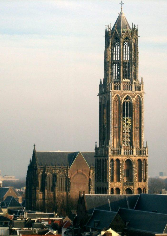 Huwelijksaanzoek op de dom van Utrecht