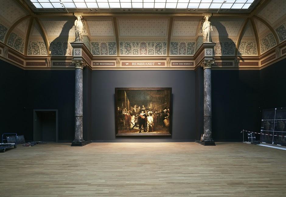 De nachtwacht in het rijksmuseum.nl