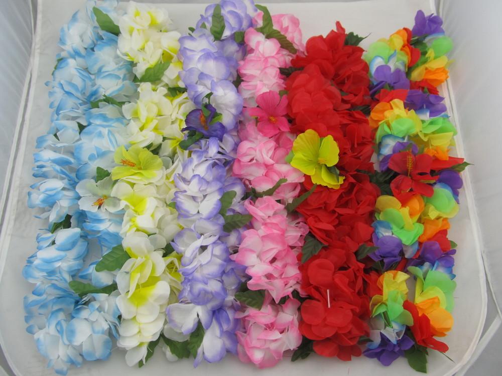 Originele hawai-slingers voor de gasten van de bruiloft receptie