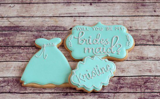 Getuigen vragen met koekjes of gebak