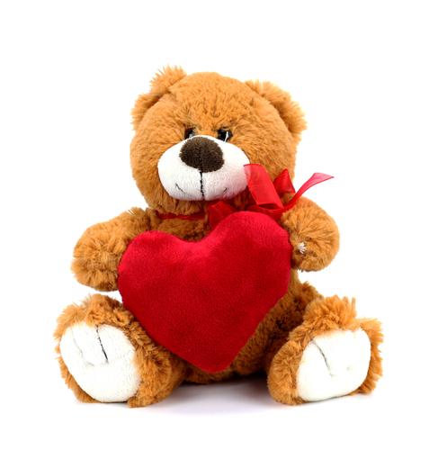 Gepersonaliseerde knuffelbeer cadeau bij 25 jarig huwelijk
