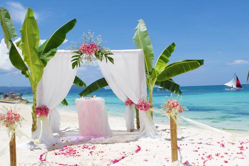 Tropische bruiloft op de Malediven