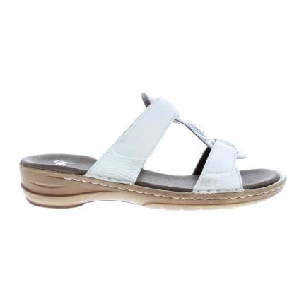 trouwschoenen - Witte slippers voor 's avonds