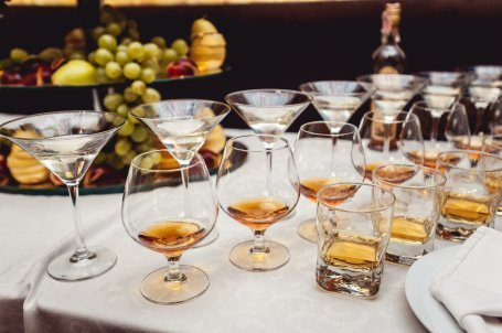 whisky bar bruiloft