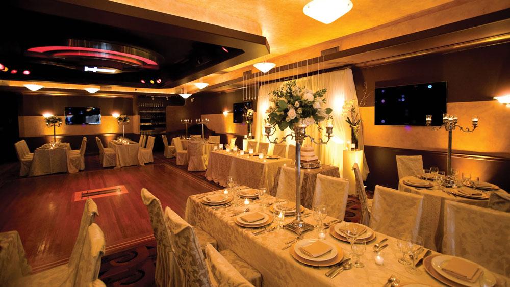 Binnenlocatie in restaurant