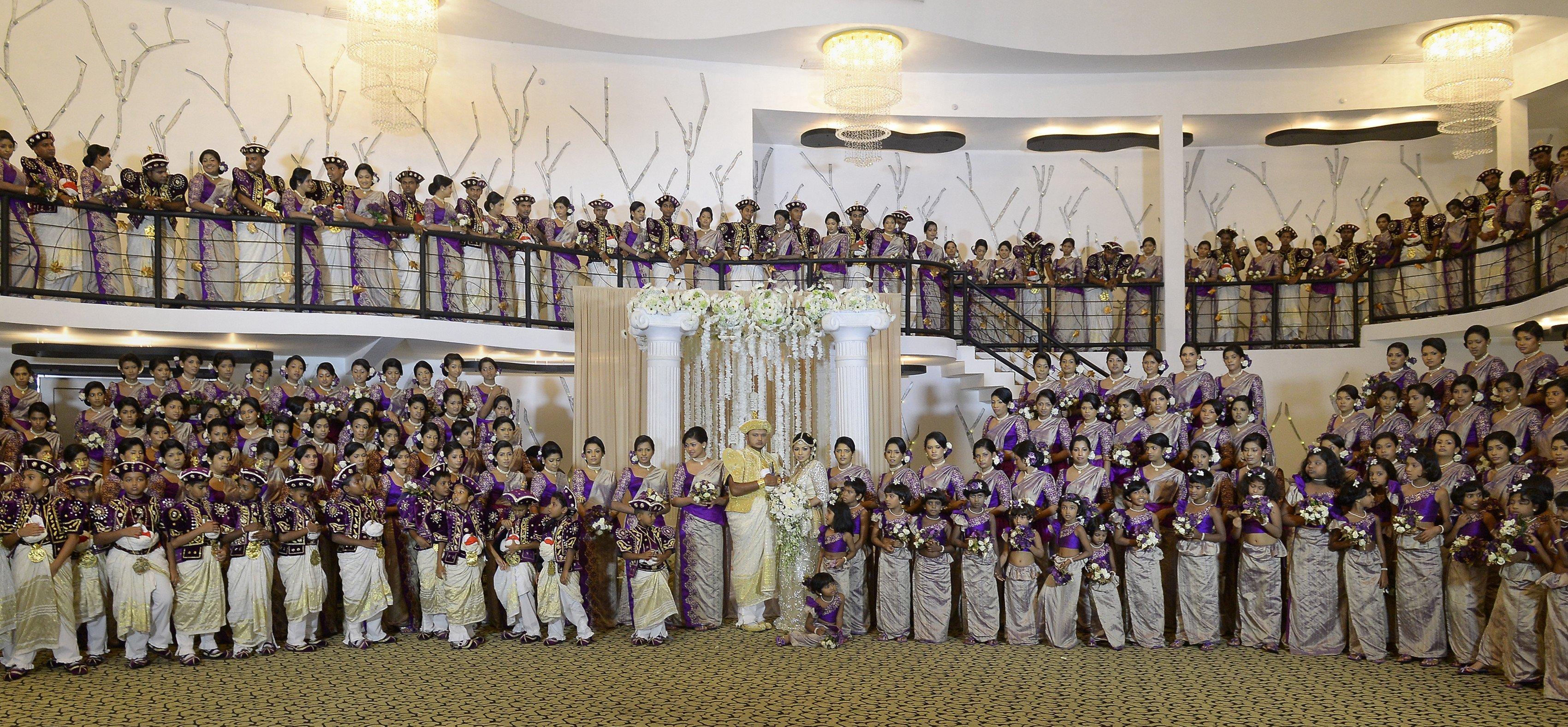Meeste bruidsmeisjes