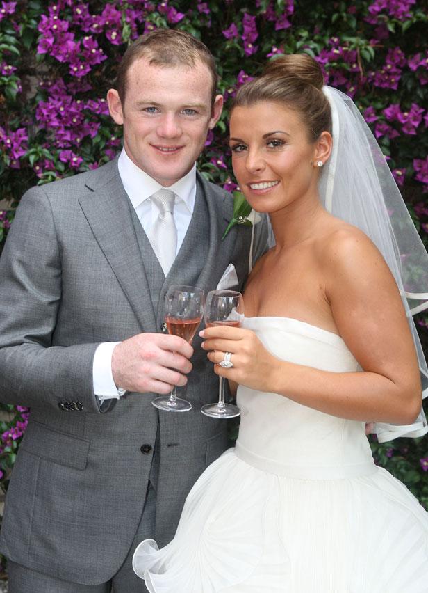 Wayne Rooney and Coleen Mcloughlin