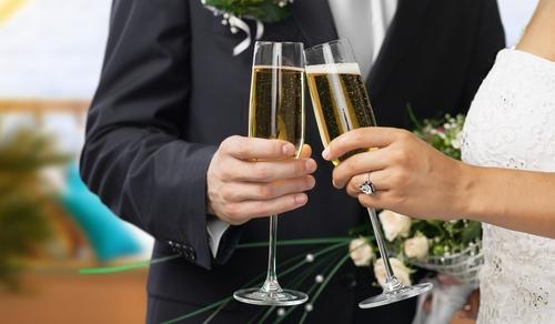Catering tijdens bruiloft