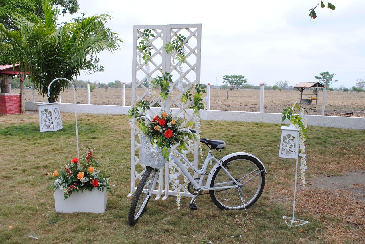 fiets bruiloft