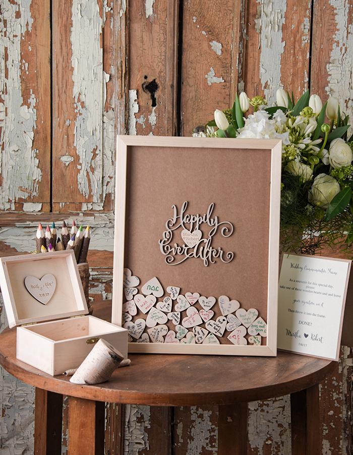 Zelf een uniek houten gastenboek maken mijn trouwpagina for Trouwdecoratie zelf maken