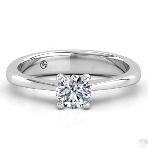 Diamant solitair ring