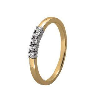 Rij-ring bicolor