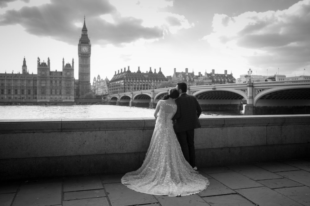 Huwelijksreis Engeland
