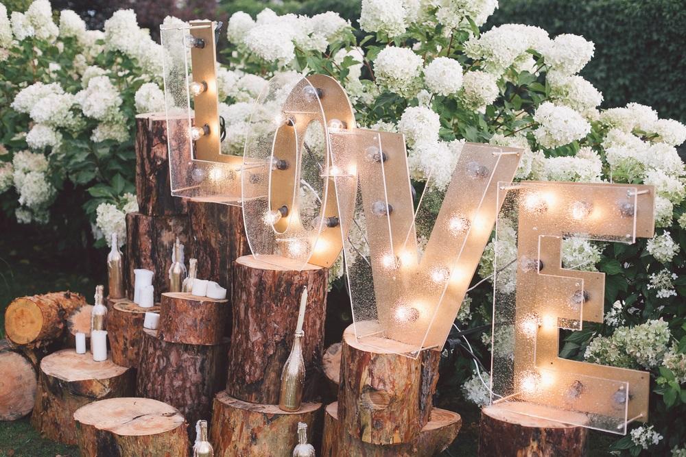 Festival bruiloft organiseren