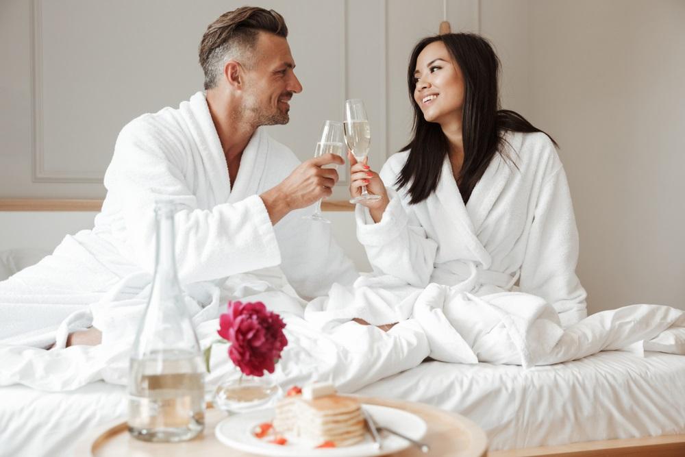 Huwelijksnacht ontbijt