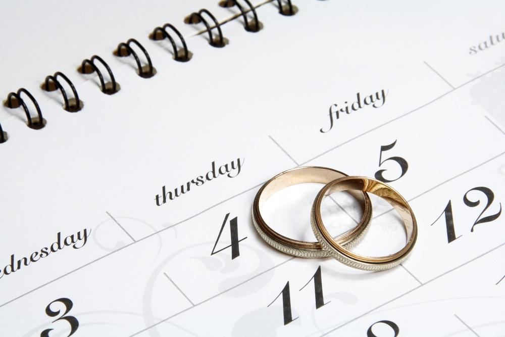 Kies een trouwdatum